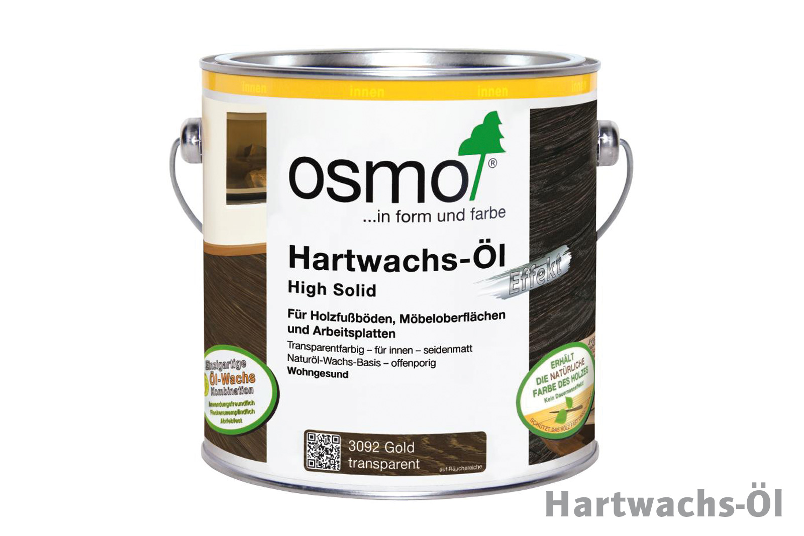 osmo hartwachs l effekt gold 3092 bei bauking direkt. Black Bedroom Furniture Sets. Home Design Ideas