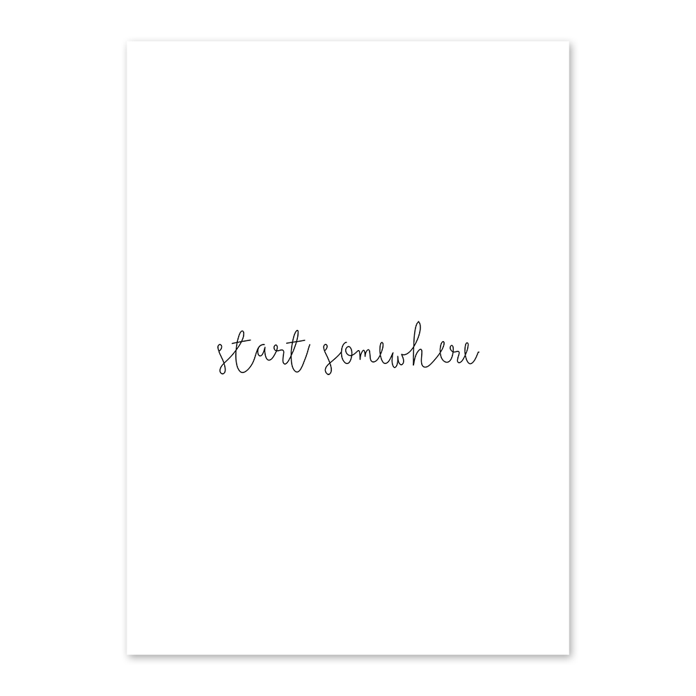 Karte A6 ''start somewhere'' |  | Artikelnummer: 23