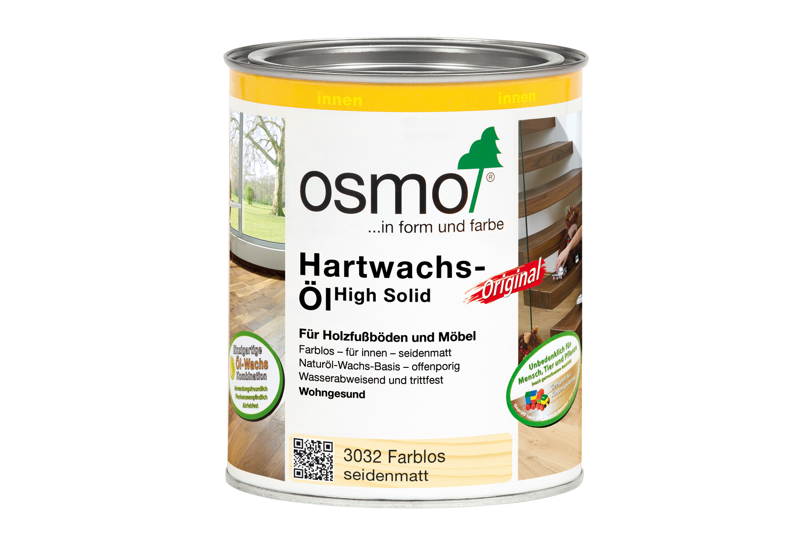 osmo hartwachs l original 3032 bei bauking direkt. Black Bedroom Furniture Sets. Home Design Ideas