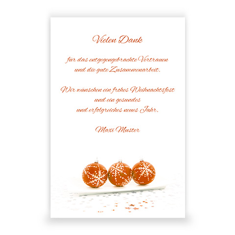 WF 64 Festschmuck | orange