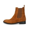 CRICKIT-Chelsea Boot Stiefelette-JOANNA Suede Nussbraun