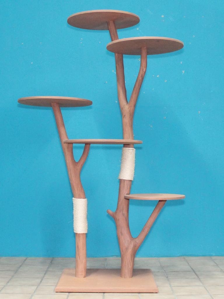 reserviert kratzbaum naturholz 178 cm naturkratzbaum 0650 diworo naturholz design. Black Bedroom Furniture Sets. Home Design Ideas
