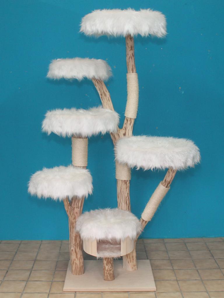 kratzbaum naturholz 215 cm naturkratzbaum 0612 diworo. Black Bedroom Furniture Sets. Home Design Ideas