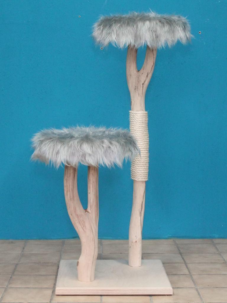 kratzbaum naturholz 119 cm naturkratzbaum 0615 diworo. Black Bedroom Furniture Sets. Home Design Ideas