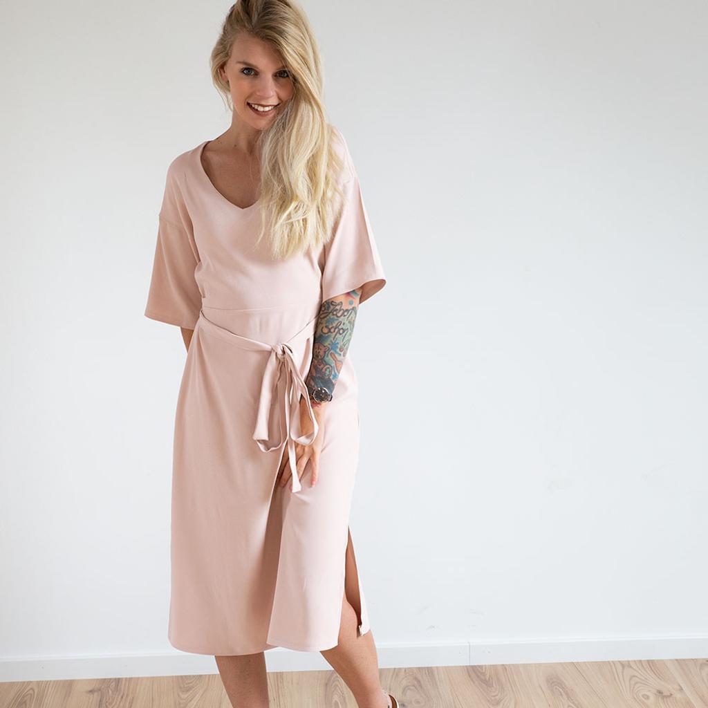 kleid nähen kaftankleid estelle schnittmuster – the couture