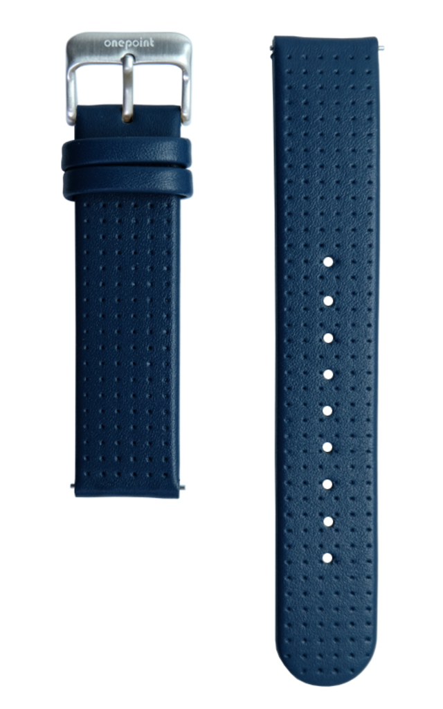 onepoint Lederarmband Farbe Ocean Blue