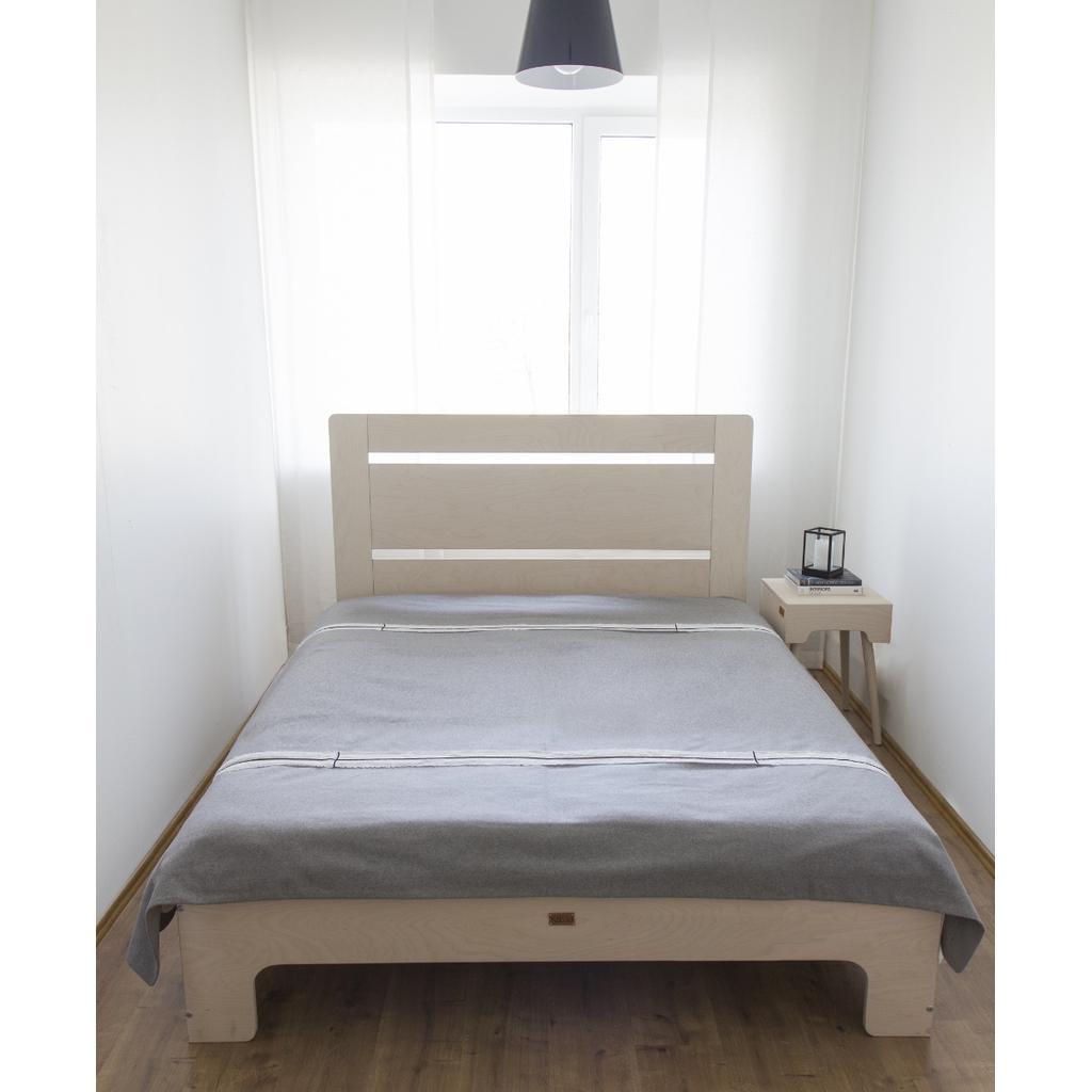 Bett Tu L Aus Massivholz In Weiss 120x200 Cm
