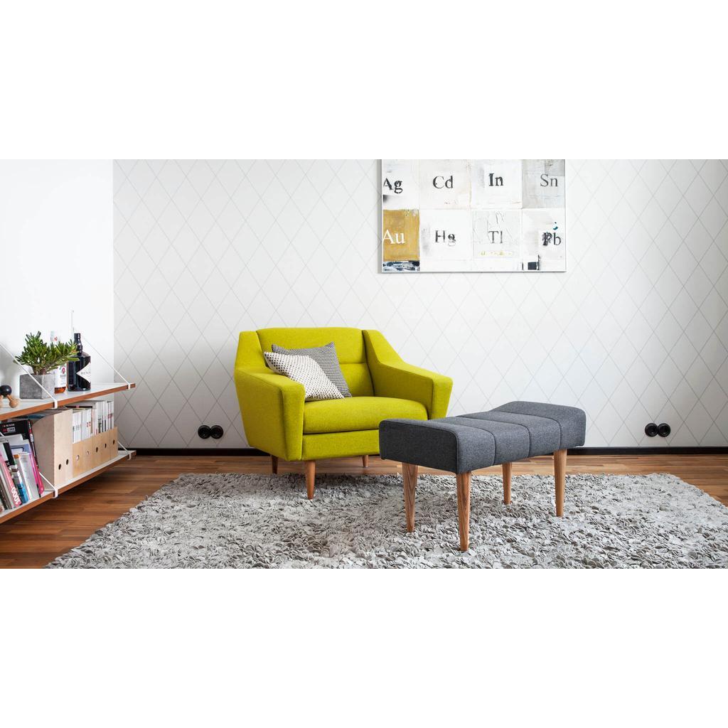 Gepolsterter sitzhocker skandinavisches design for Sitzbank skandinavisch