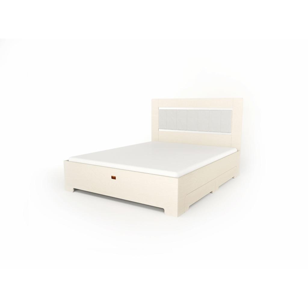 bett tu l wei mit schubladen 140x200 cm. Black Bedroom Furniture Sets. Home Design Ideas