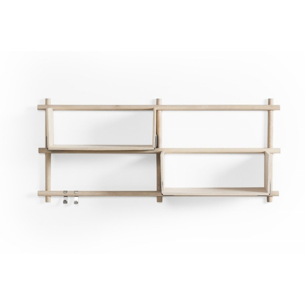 Wandregal Holz minimalistisches Design