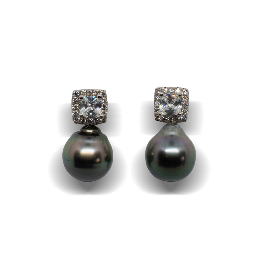 Titan Titanium Ohrstecker Ohrringe Ohrhänger Silber weiß weiss Keramik Damen 2