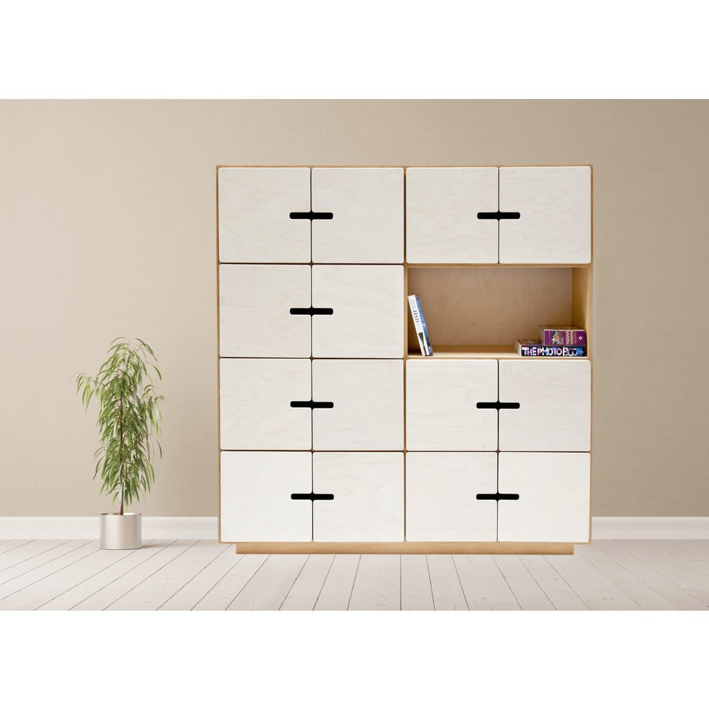 highboard kommode f r arbeitszimmer wohnzimmer. Black Bedroom Furniture Sets. Home Design Ideas