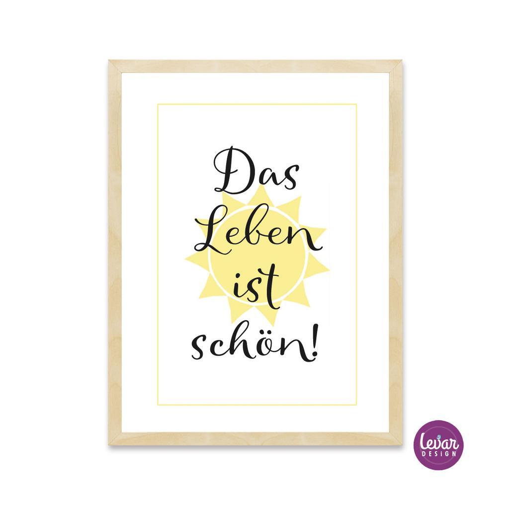 Das Leben Ist Schön Spruch Zitate Goldene Hochzeit 2019