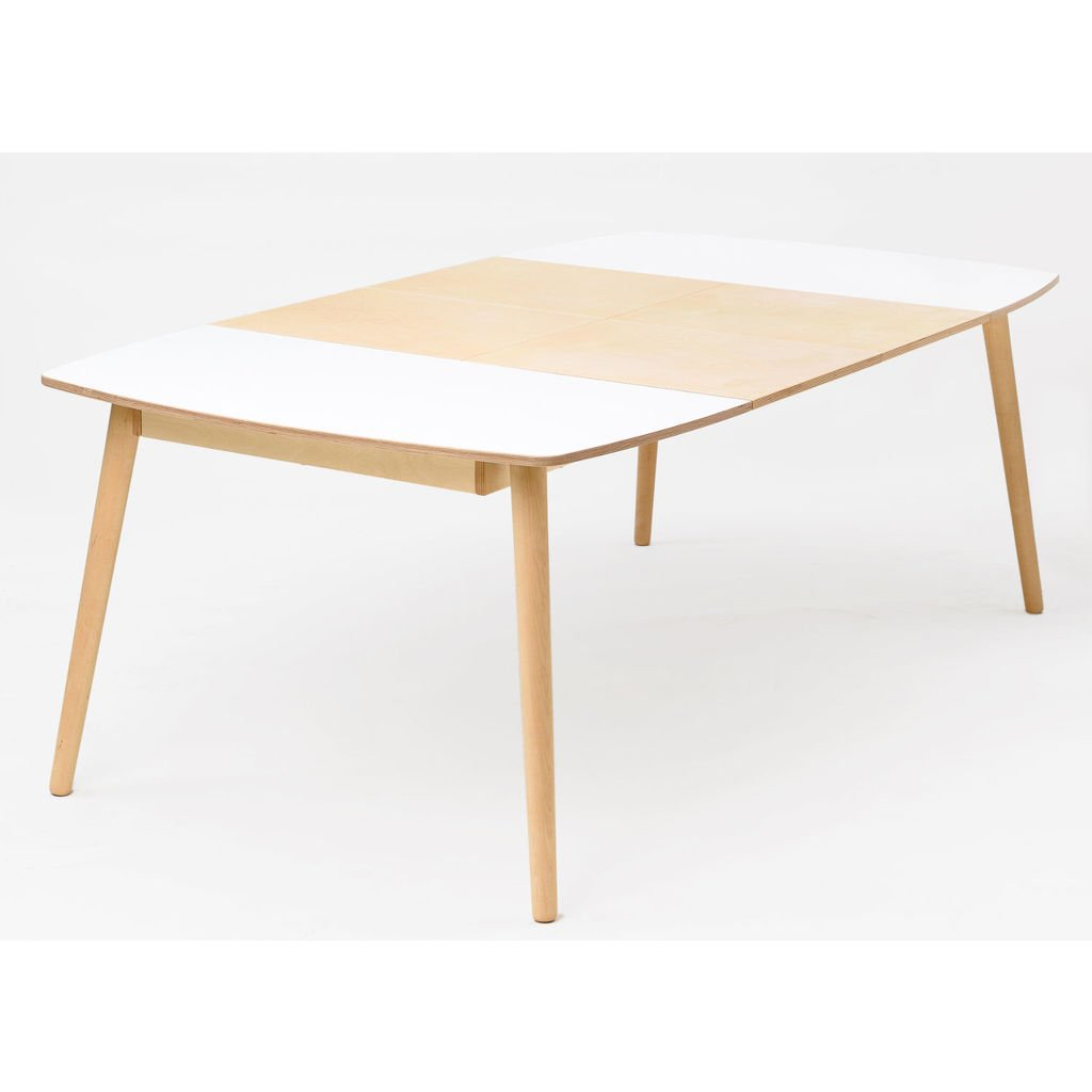 Ausziehbare Kuchentisch Aus Holz Skandinavisches Design