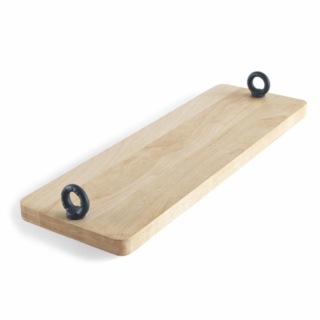 Design Servierplatte M12 Aus Holz Metall