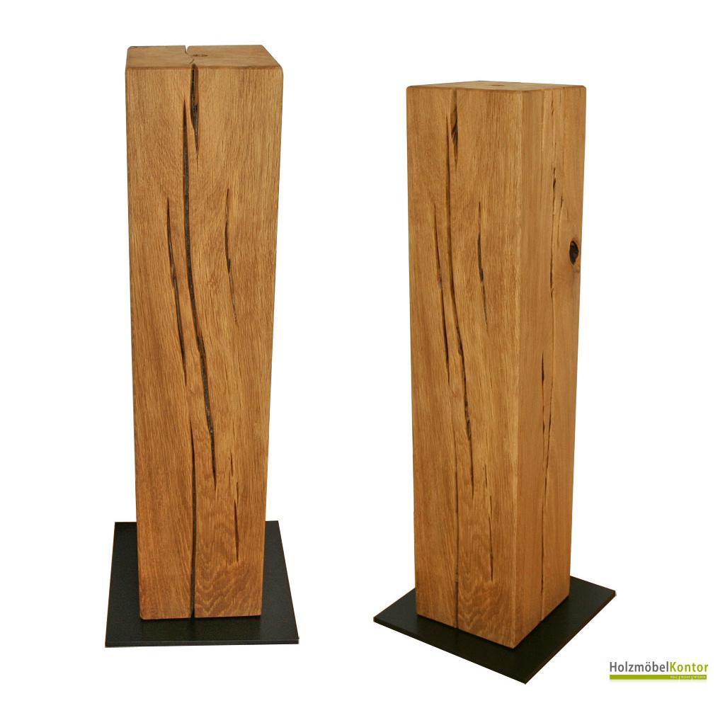 stands ule und galeries ule aus holz sockel vom holzm belkontor. Black Bedroom Furniture Sets. Home Design Ideas