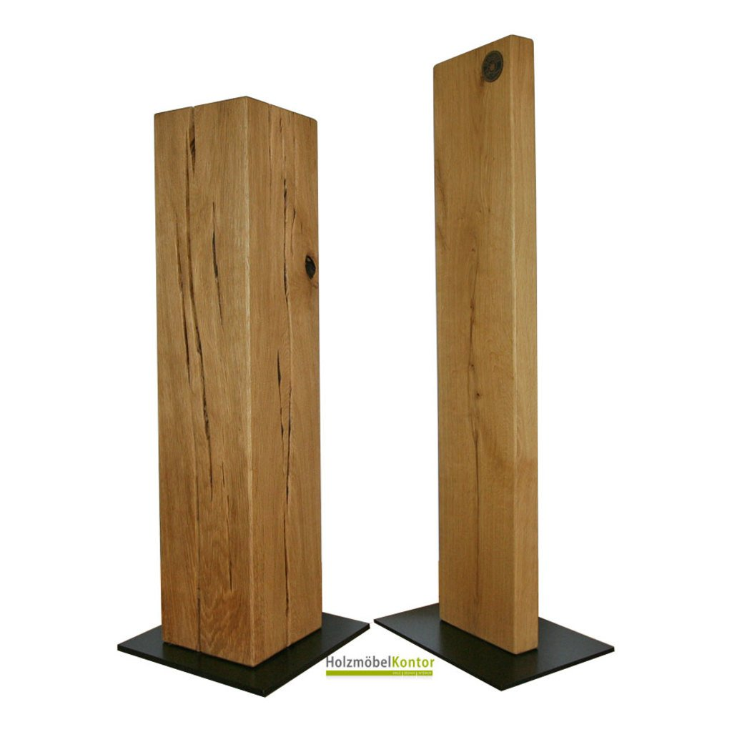 stands ule und galeries ule aus holz sockel vom holzm belkontor. Black Bedroom Furniture Sets. Home Design Ideas