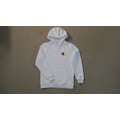 White Turbodonut Hoodie White noise collection