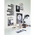 Wandsticker Spruch DO MORE OF WHAT MAKES YOU HAPPY