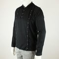 Shirt 3 Plackets Black