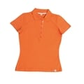 Damen-Poloshirt, orange