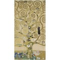 Gustav Klimt, TREE OF LIFE Cartoon part 4 for the mosaic frieze on the wall of the dining hall of Stoclet House, Brussels
