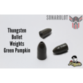 Tungsten Bullet Weights Green Pumpkin Bullet Weights Green Pumpkin 1/8 Oz = 3,5g