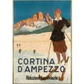 Cortina d'Ampezzo Advertising Poster 1923