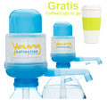 Agua Quick - Yong collection/ Das Original 2 x Pumpen YCB  - Gratis COTOGO gelb