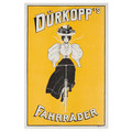 Dürkopp´s Fahrräder Advertising Poster around 1905