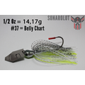 Evergreen Jack Hammer Chatterbait 1/2 Oz #37 Belly Chart