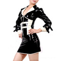 Latex Anzug dress Kleid