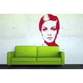 TWIGGY | Sixties Pop ART | Wandtattoo RETRO DESIGN