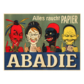 Abadie-Alles raucht Papier Advertising Poster around 1905