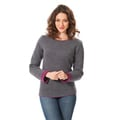 Sweatshirt 'Outdoor' grau/lila