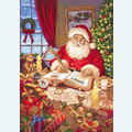 The List of Naughty and Nice - borduurpakket met telpatroon Letistitch