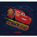 Cars - Lightning McQueen with Screeching Tires - Disney borduurpakket met telpatroon Vervaco
