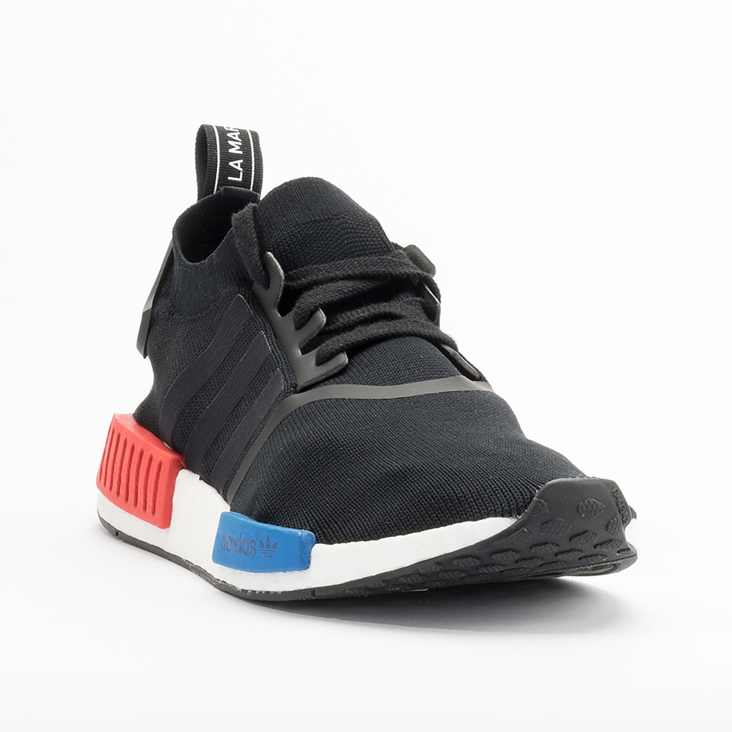 hnlqka Adidas NMD Runner R1 Primeknit Detailed Close Up On Feet w - NMD