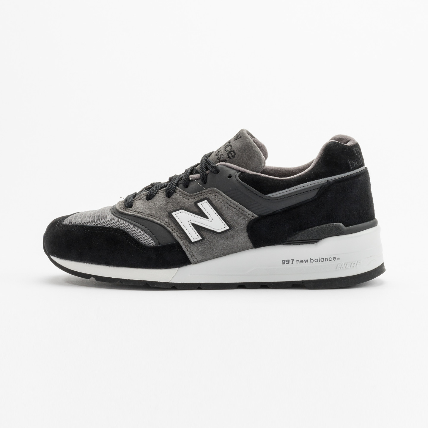 New Balance M997 Made in USA Grey / Black / White M997CUR