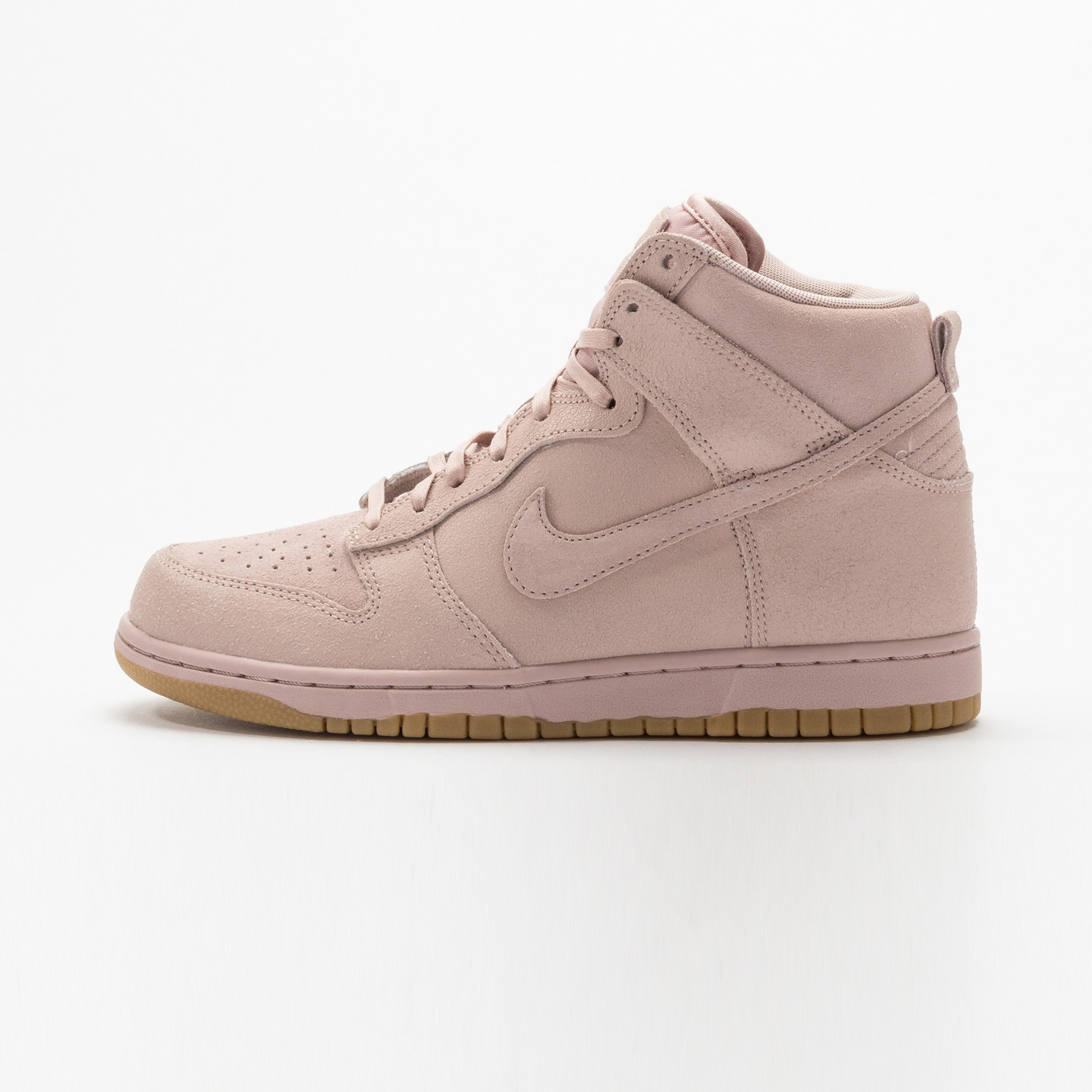 Nike Wmns Dunk High Premium Pink Oxford / Bright Melon 881232-600