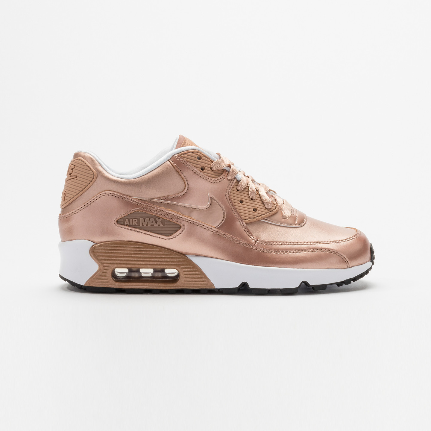 Nike Air Max 90 SE Leather (GS) Metallic Red Bronze 859633-900