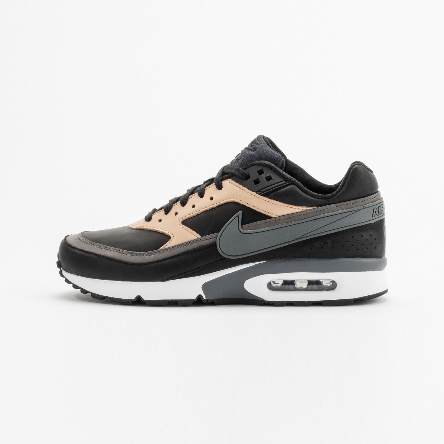 Nike Air Max BW Premium Leather Black / Dark Grey / Vachetta 819523-001