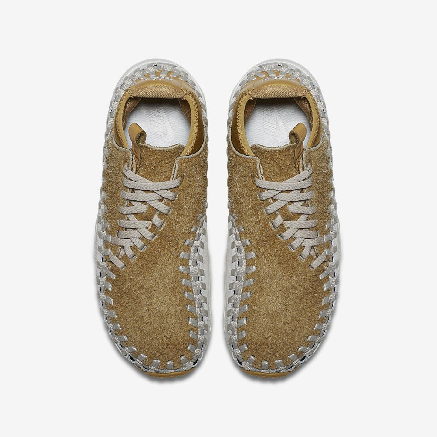 Nike Air Footscape Woven Chukka QS Flat Gold / Light Orewood Brown 913929-700