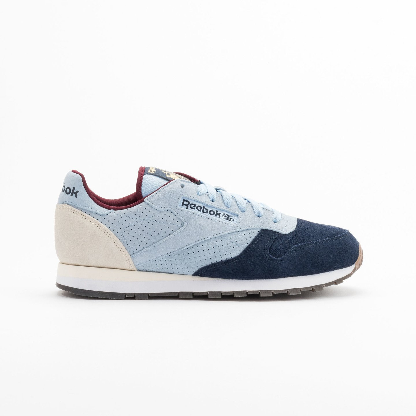 Reebok Classic Leather Int Navy / Light Blue / Sand V66829-43
