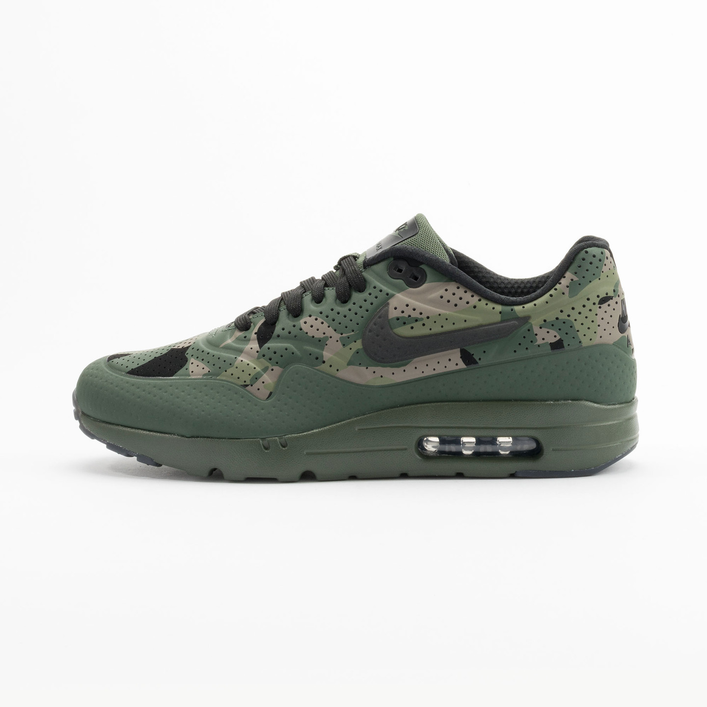 Nike Air Max 1 Ultra Moire Print Camouflage / Carbon Green 806851-300-44.5