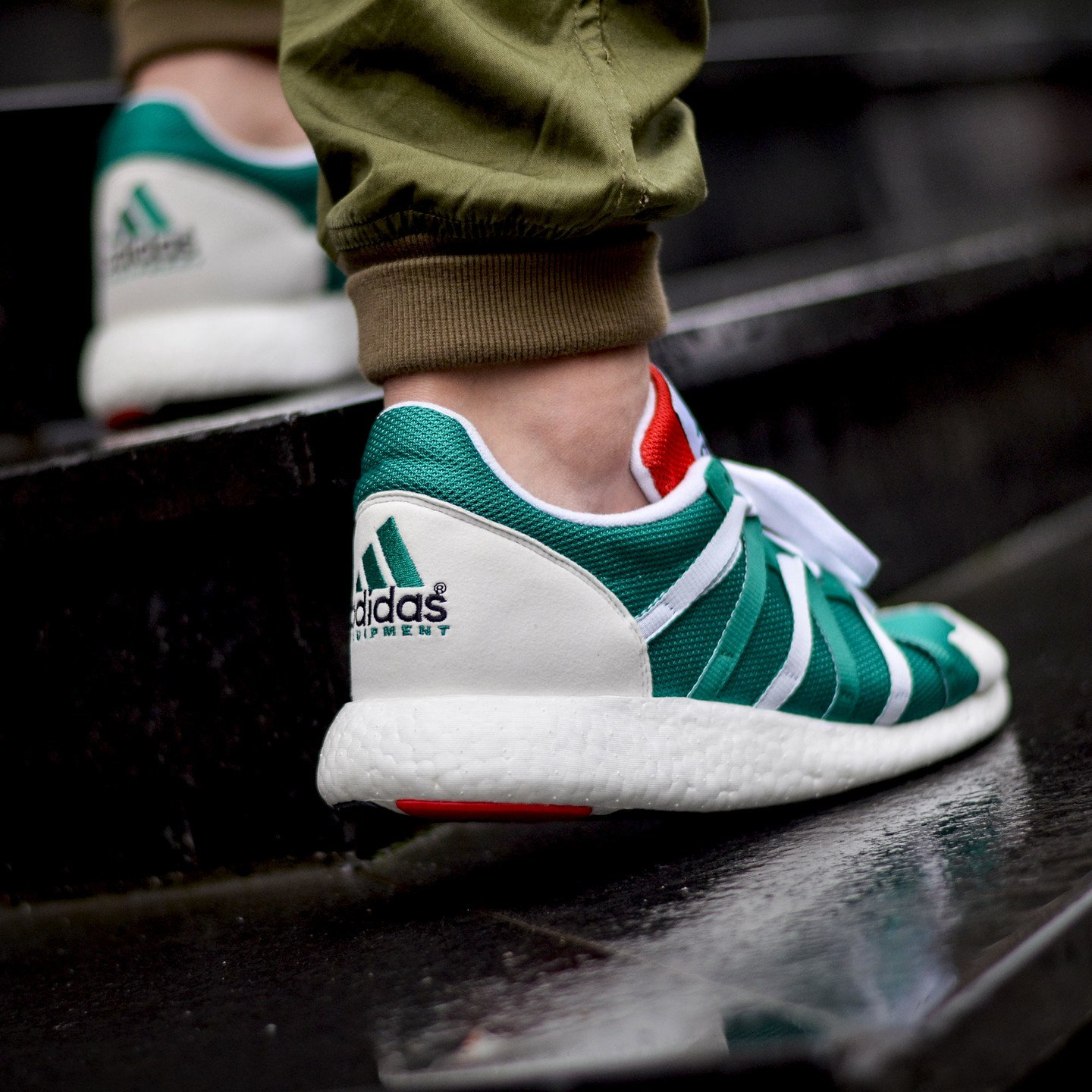 Adidas Equipment Racing 93/16 Sub Green / Ftw White / Col Red S79122-46