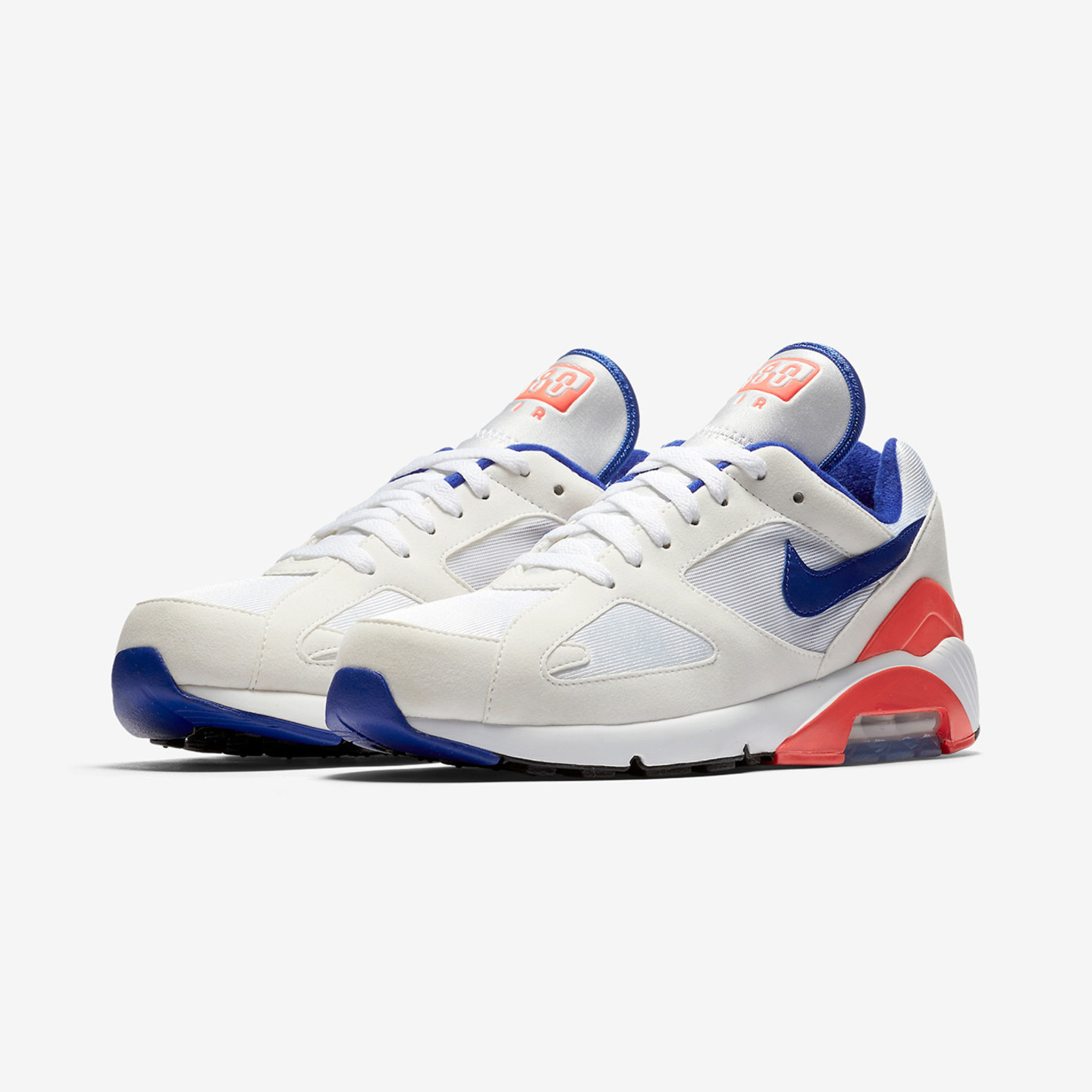 Nike Air Max 180 OG 'Ultramarine' White / Ultramarine / Solar Red 615287-100