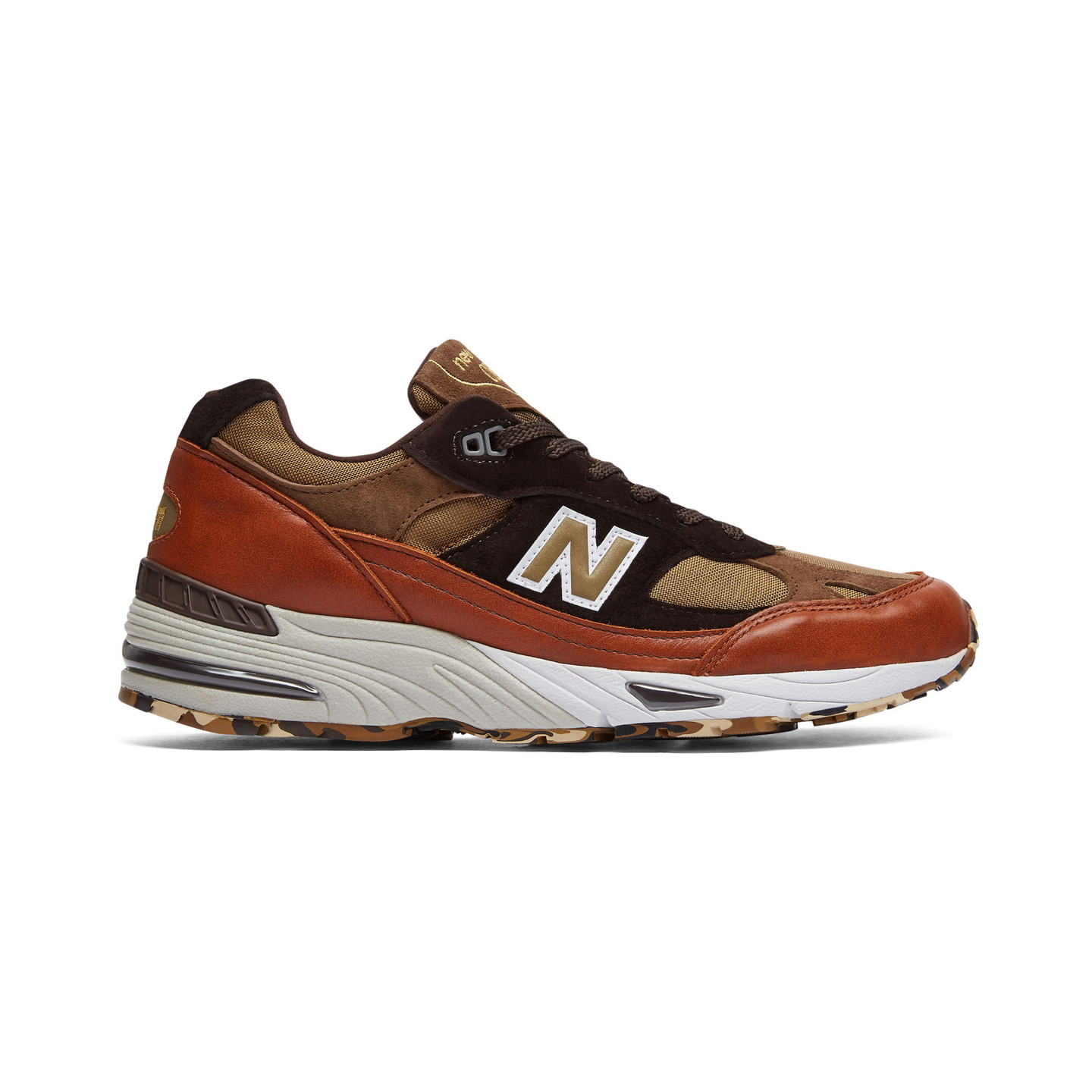 New Balance M991 SOP - Made in England Burnt Orange / Brown / Brown Camo M991SOP