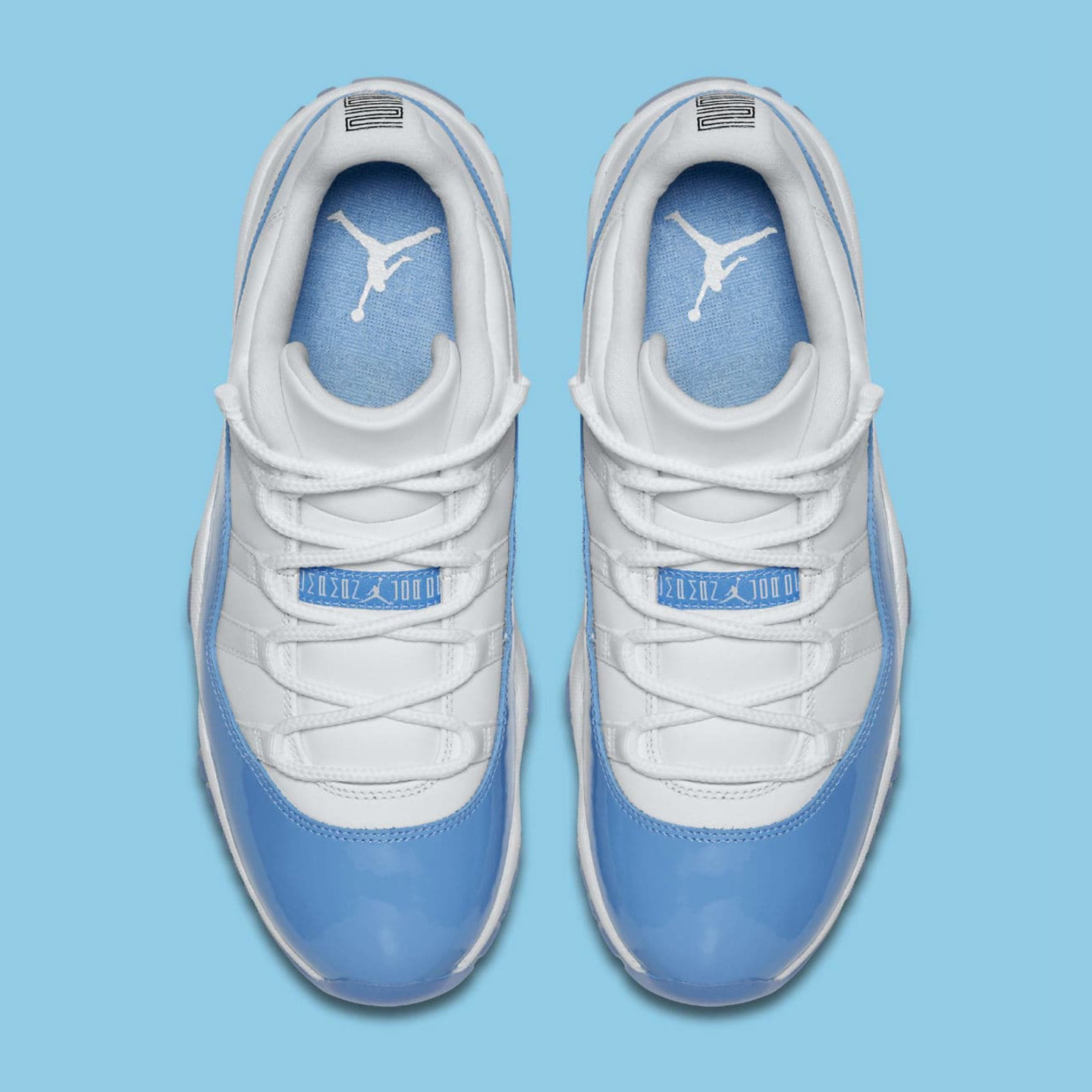 Jordan Air Jordan 11 Retro Low 'UNC' White / University Blue 528895-106-43