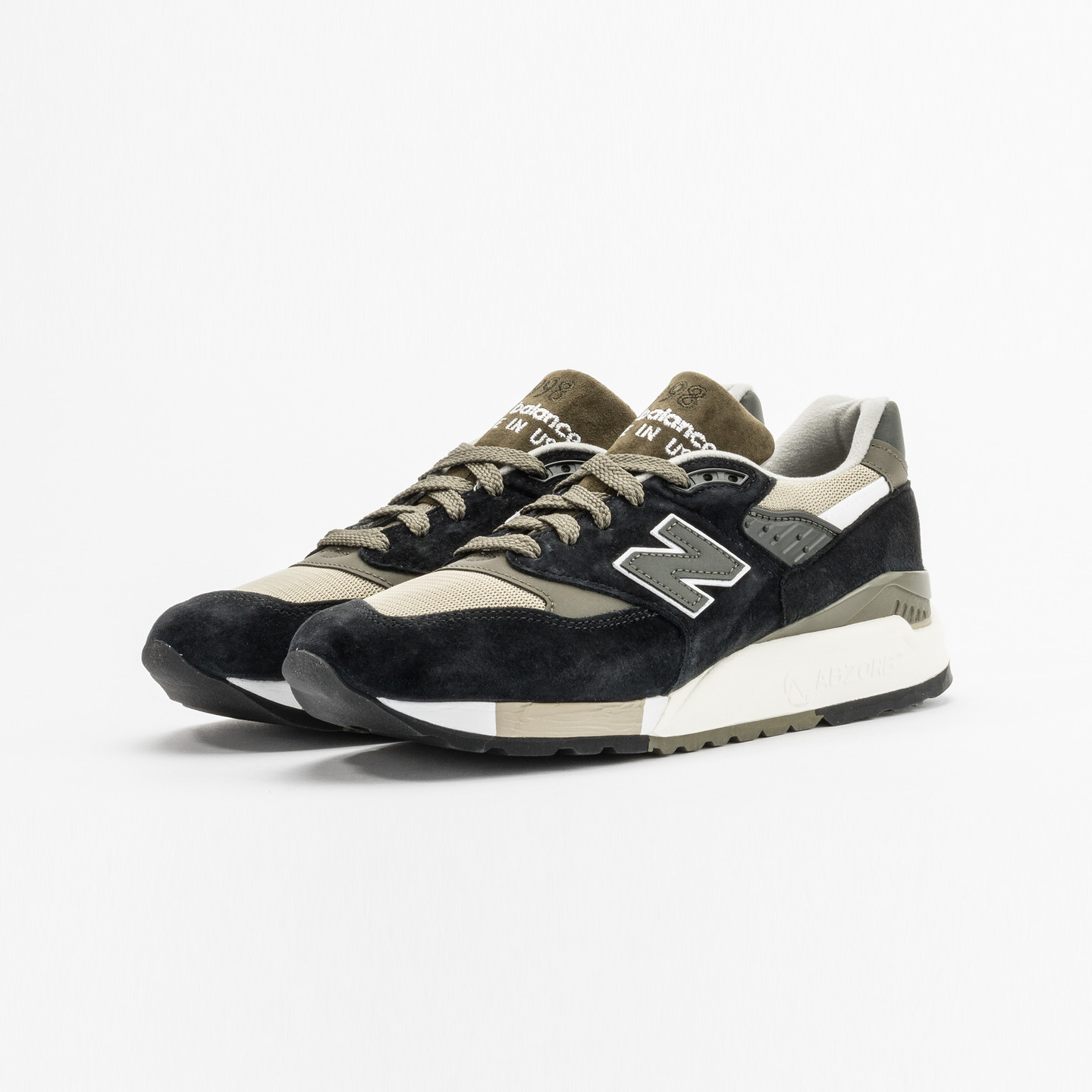 New Balance M998 Made in USA Olive / Black M998CTR-44.5